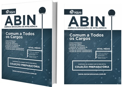 Apostila concurso ABIN 2017