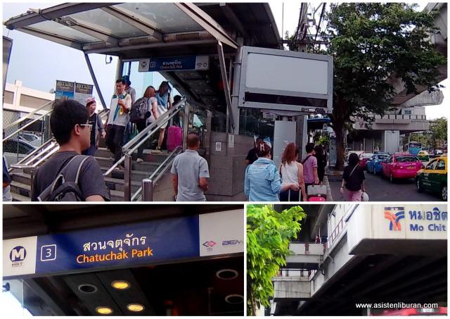 mrt bts chatuchak mo chit don Muang Bangkok