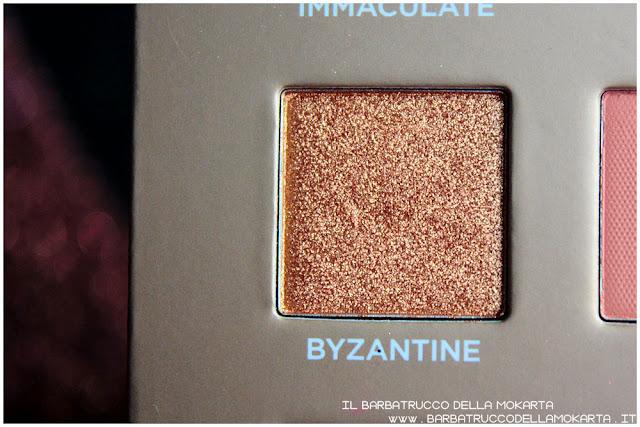 byzantine dreamy eyeshadow palette nabla cosmetics ombretti