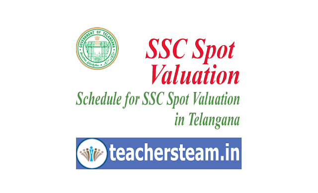 SSC Revised Spot Valuation Dates in Telangana