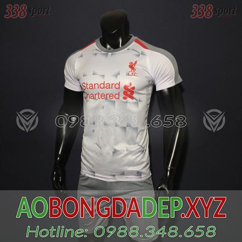 Áo Liverpool Training  Màu Trắng Xám Đẹp