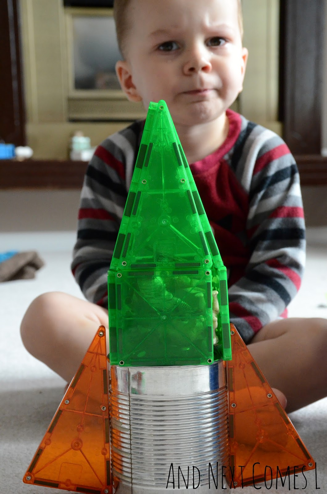 K and his rocket from And Next Comes L