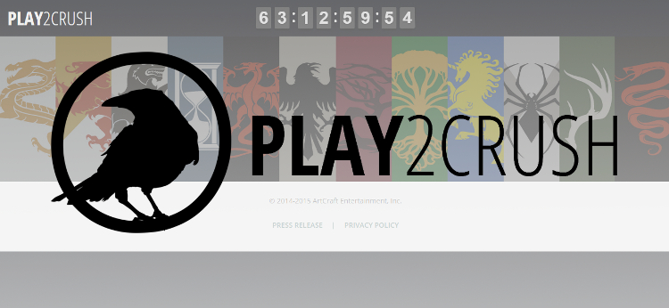 ArtCraft Entertainment Play2Crush
