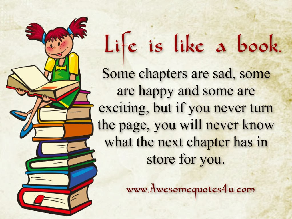 Awesome Quotes: Life Is Like A Book