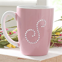 monogrammed mug letter quot k quot tea cup zazzle simplicity and delight morning cup of joe 570