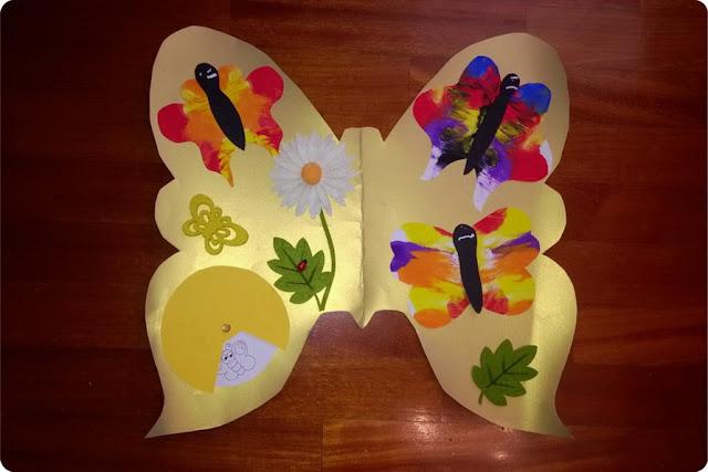 farfalle per bambini piccoli