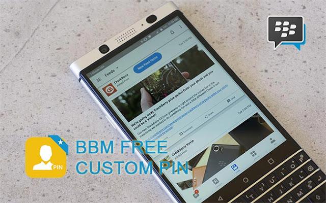 Cara Setting Custom PIN BBM Secara Gratis iOS dan Android
