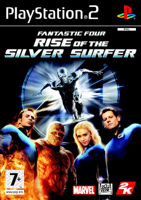 Fantastic 4: Rise of Silver Surfer (PS2) 2007