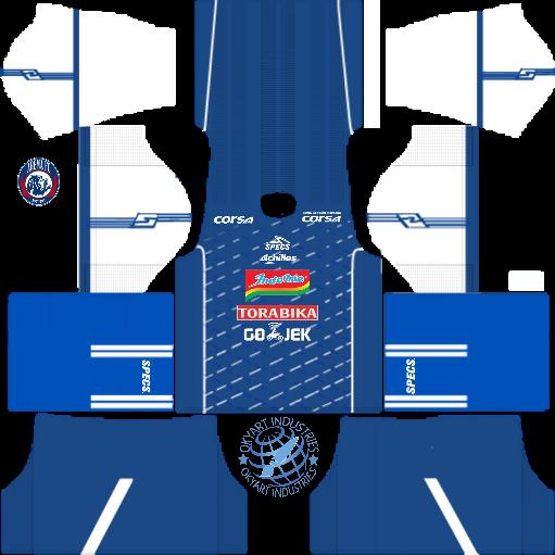 Jersey Kit Dls 18 Arema - Jersey Kekinian Online