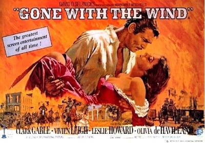 Scarlett Rhett Butler Gone With The Wind Classic Movie