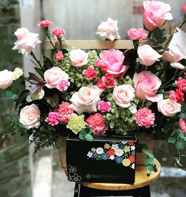 45+ Ảnh Giỏ Hoa & Lãng Hoa Hồng Tươi Tặng Sinh Nhật Người Yêu, Vợ