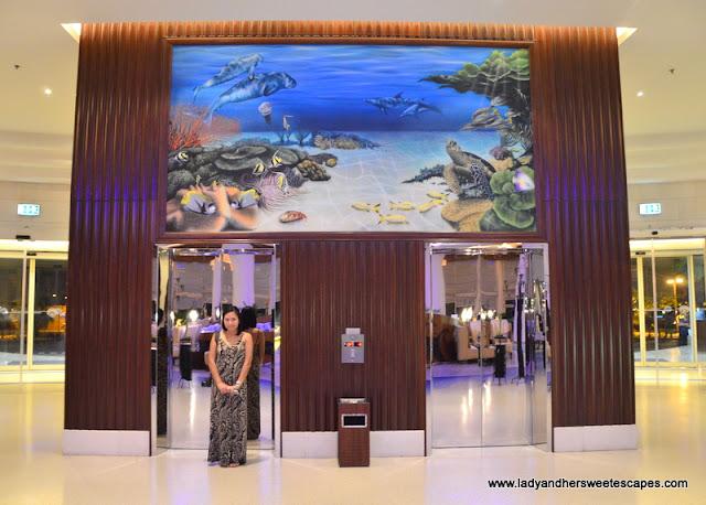 Danat Jebel Dhanna Resort paintings
