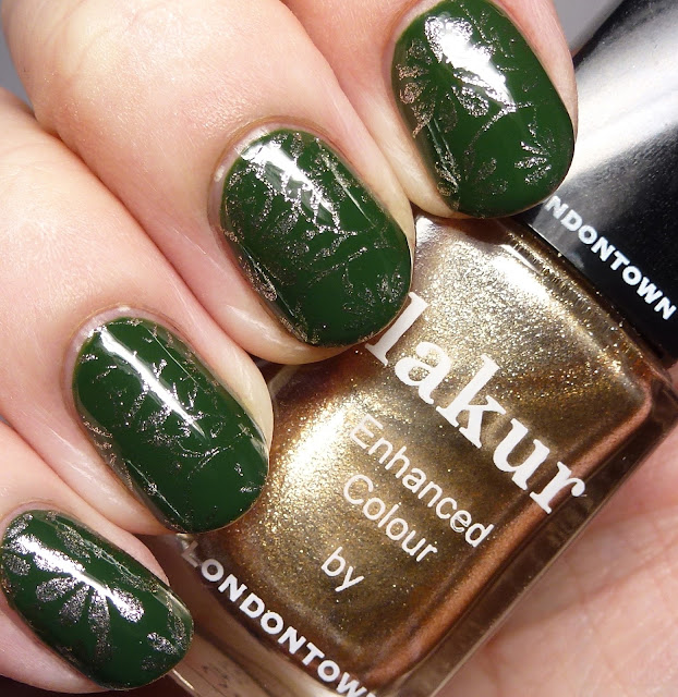 Lakur Enhanced Colour by Londontown Emerald Tower and Best of British stamping