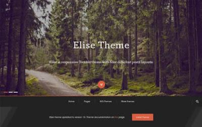 Elise тема сетка для tumblr 2018