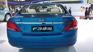 Dream Fantasy Cars-BYD F3 model 2012