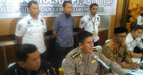 Pemilik Abu Tours Ditetapkan Jadi Tersangka dan Langsung Ditahan