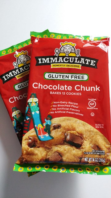 #ImmaculateBaking Chocolate Chunk Cookie Dough #ad