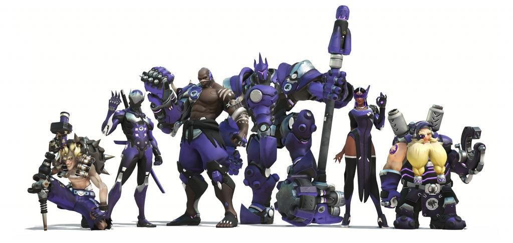 Overwatch League New Skins