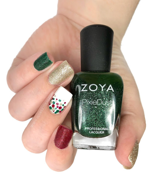 Christmas Dotticure Nails