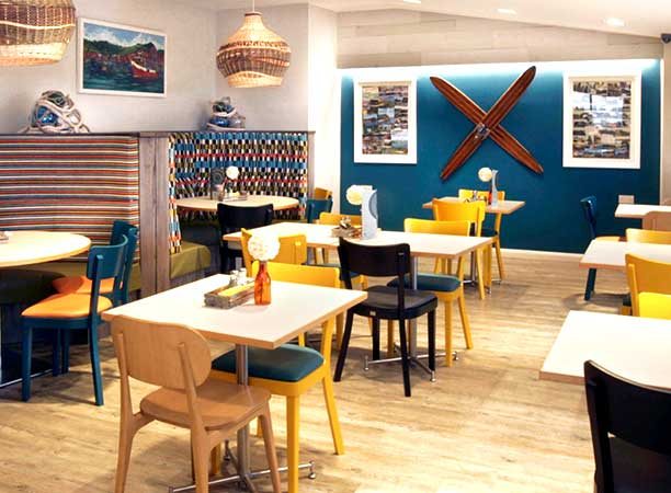 Sharing information interior and exterior creative for Restaurant interior design inspiration