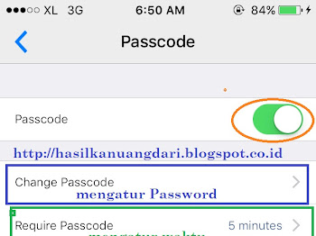 Cara Memberi Password pada BBM