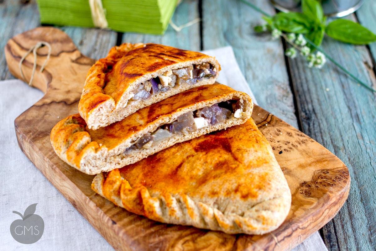 Eggplant calzone | Easy Food Recipe - Healthy Food 4U - Healthy ...