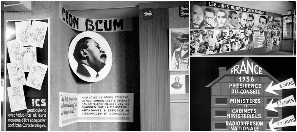 le juif et la france retour sur la halte bordelaise de cette exposition antis mite le. Black Bedroom Furniture Sets. Home Design Ideas
