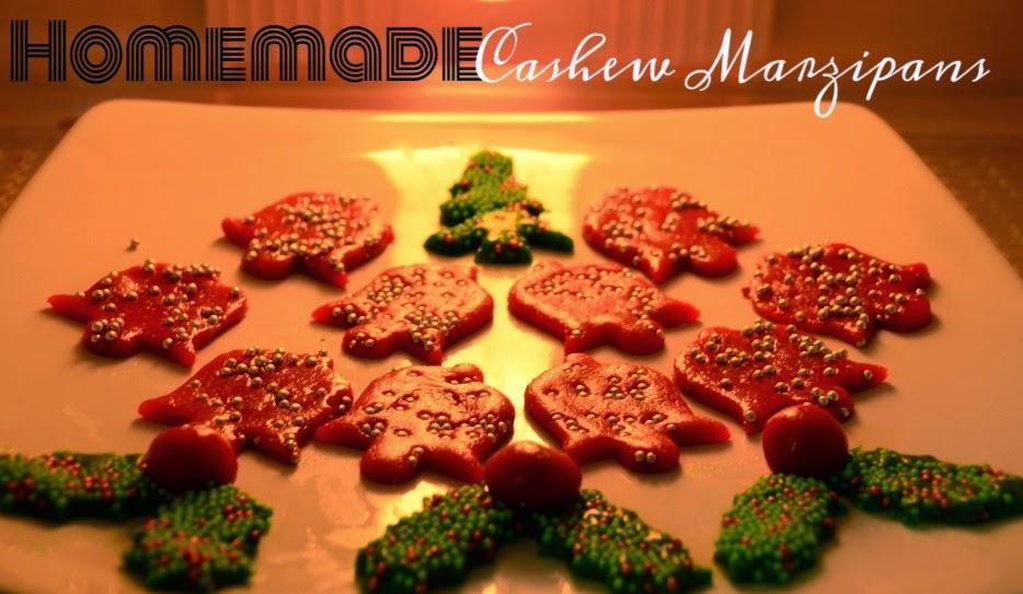 Homemade Cashew Marzipans- Recipe, Trials & Errors!