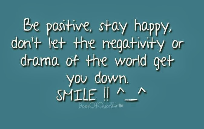 Negative Times Staying Positive