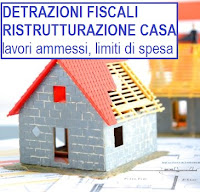 incentivi fiscali per ristrutturazione casa