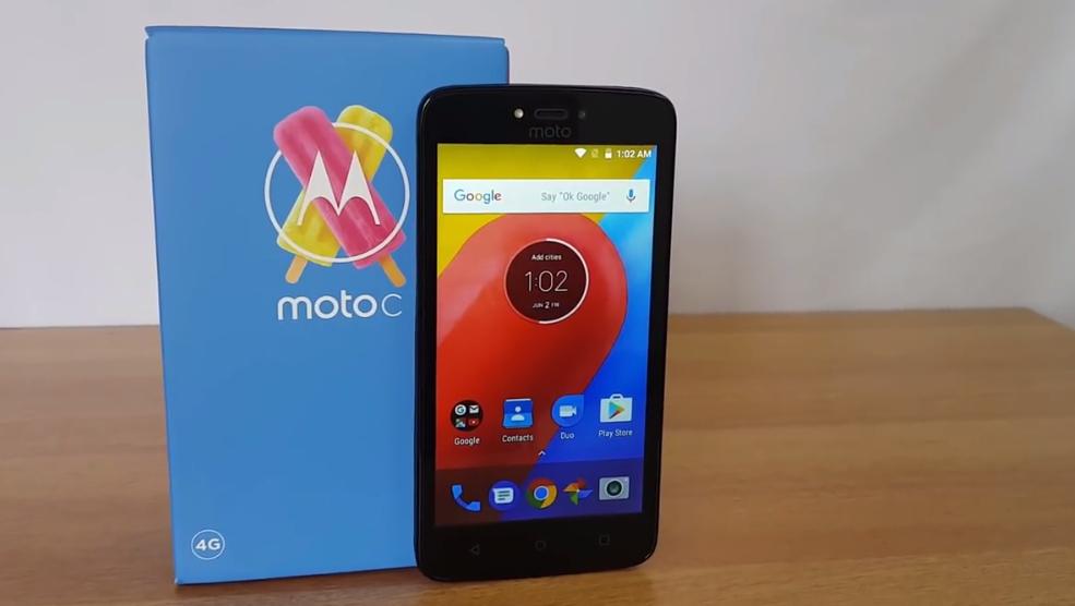 Motorola Moto C 2017 Android Smartphone