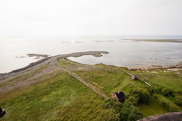 Panorama dal faro più grande della Scandinavia-Isola di Oland
