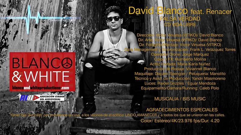 David Blanco y Grupo Vocal Renacer - ¨Falsa Verdad¨ - Videoclip - Dirección: Víctor Vinuesa (Vitiko) - David Blanco. Portal Del Vídeo Clip Cubano
