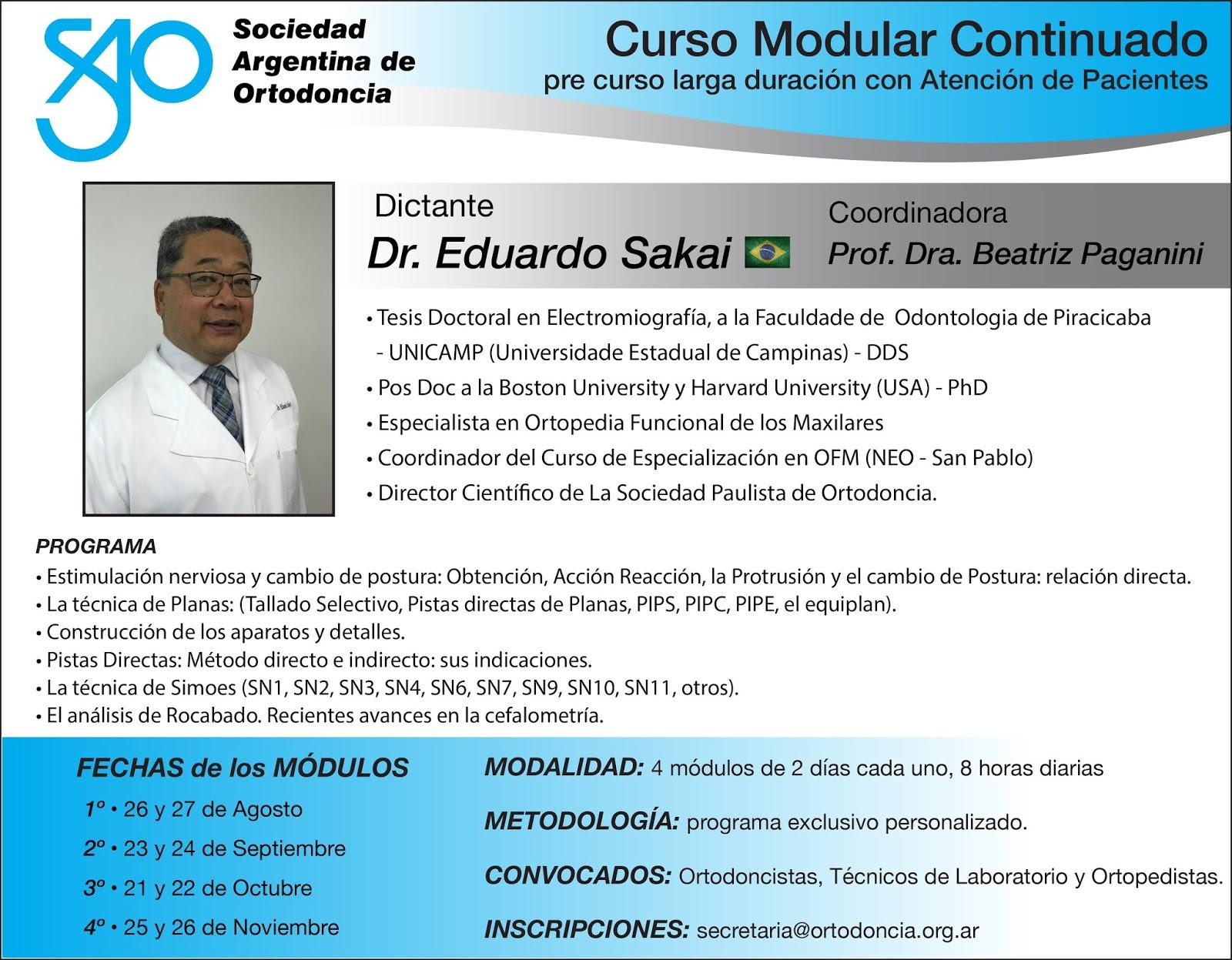 Curso Modular Dr. Eduardo Sakai