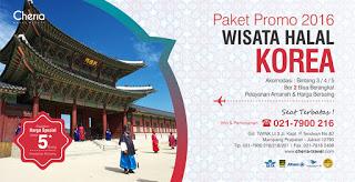 Paket Tour Halal Korea Promo