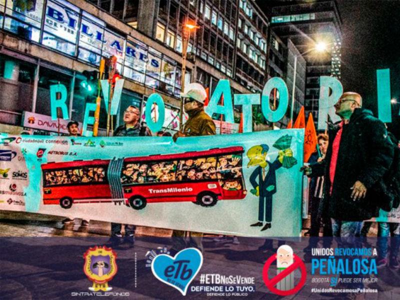 Fallo de Tutela ordena destrabar la Revocatoria a Peñalosa