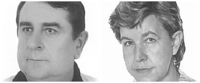 zdjęcie: policja/ Komunikat – zaginęło małżeństwo: MAŁGORZATA i KRZYSZTOF KAIZER