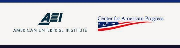 American Enterprise Institute (AEI) and Center for American Progress (CAP) co-hosted event banner
