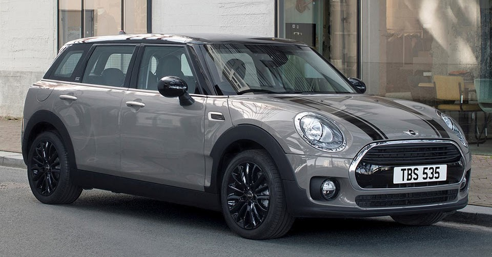 Mini Murders Out The Clubman With New Black Pack