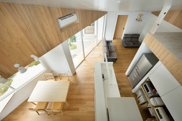 Interior of house with Dormer Window, Japan