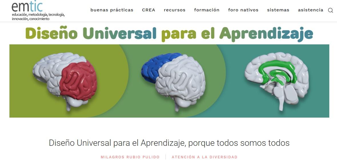 RIINEE Diseños Universales de Aprendizaje: Diseño Universal para el ...