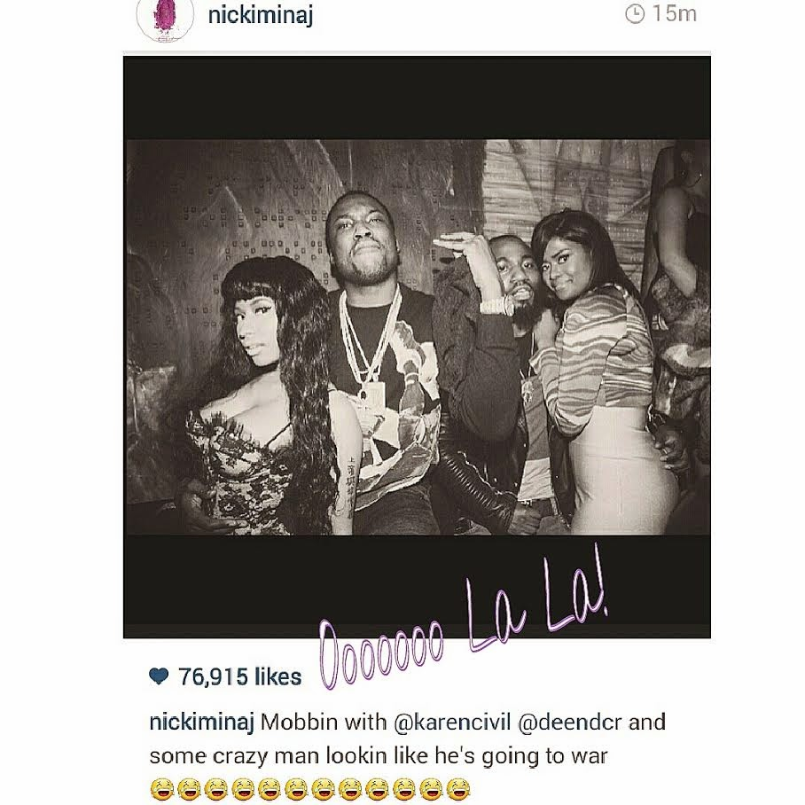 Meek Mill Insinuates Nicki Minaj Pays Hip-Hop Blogs to Discredit Him