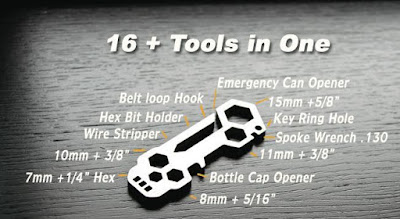 Mini Multi-tool 16 in 1