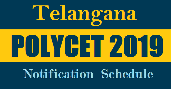 Telangana POLYCET 2019 Notification by State Board of Technical Education and Training SBTET Telangana Released TS POLYCET 2019 Notification Polytechnic Entrance Exam Dates Schedule Released for the Academic year 2019-20. The Students who are seeking admission into 4 years Polytechnic Diploma courses have to appear Telangana POLYCET 2019 Entrance Test previously called as CEEP Common Entrance Exam for Polytechnic Admissions. Telangana Polytechnic Entrance Exam Notification Schedule Dates Online Application Form Downloading of Hall Tickets Exam Dates Results Selection List Counselling Dates and Process details know here. Telangana POLYCET 2019 Notification Apply Online Fee Details How to Submit Application  Form Admission Counselling Dates Web options Submit Process ts-polycet-2019-ceep-telangana-polytechnic-entrance-exam-notification-schedule-dates-sbtet-details
