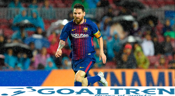 messi scored one goal in..