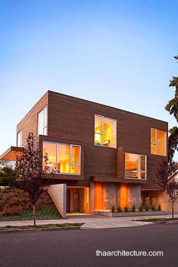 Casa residencial doble en Portland Oregon Estados Unidos