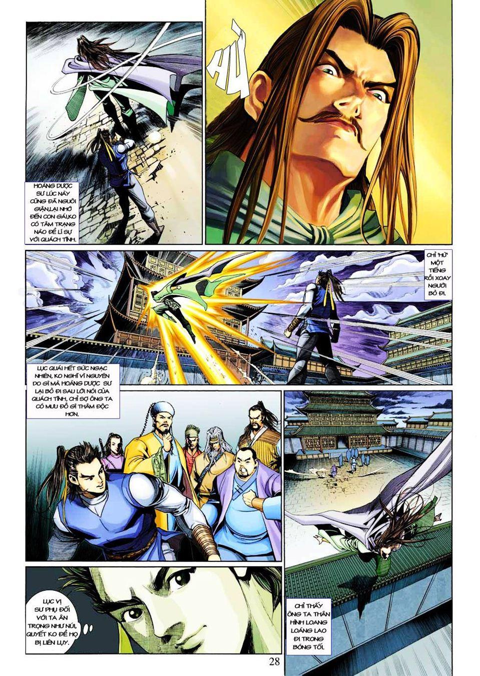 Anh Hùng Xạ Điêu anh hùng xạ đêu chap 33 trang 28