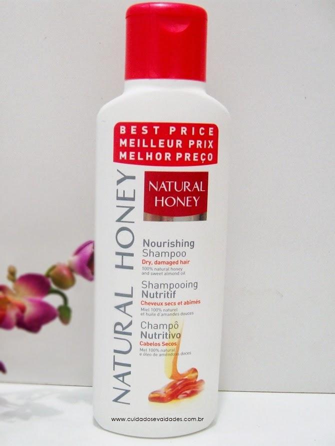 Shampoo Natural Honey - Nutritivo para cabelos secos - Revlon