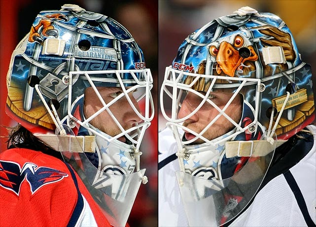 I Love Goalies Braden Holtby 2013 14 Mask