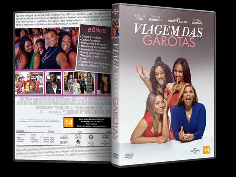 Capa DVD Viagem das Garotas [Exclusiva]